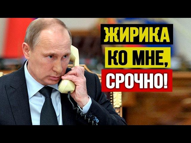 Жирик пояснил Путину что и как! Тот в шоkе