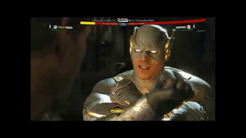 Injustice 2 Pro Series Online NA EAST Top 8 ft SonicFox, Semiij, Honeybee, Dragon and more