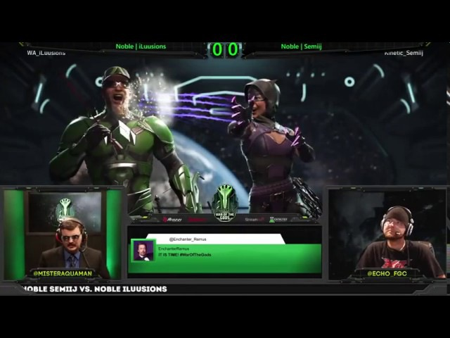 Injustice 2 War of the Gods Week 6 Top 8 ft Semiij, Forever King, Perfect Legend and more