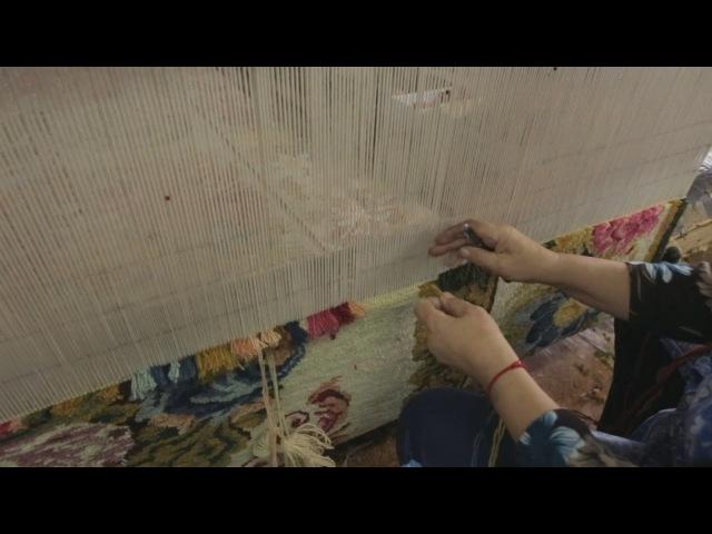 Болгарские ткачихи создают ковры копирующие шедевры XVIII века новости