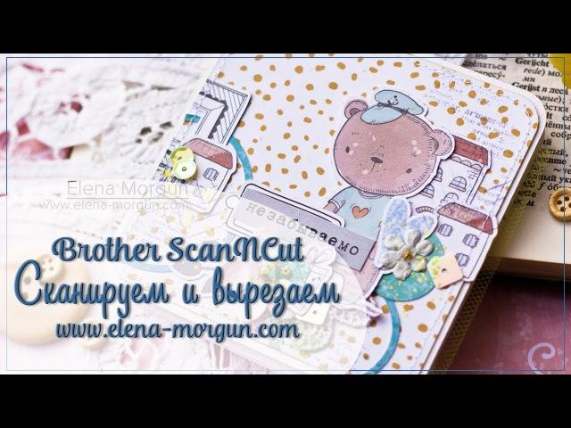 Scanncut | How to Create a Mini Album with Elena Morgun