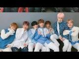 [170225]Реакция бтс на свое выступление @ Music core|Not today Spring day reaction BTS