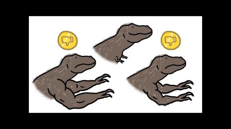 Почему у Тираннозавра Рекса такие крошечные руки