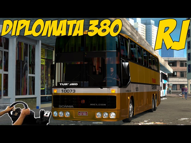 Euro Truck Simulator 2 (Microsoft Windows, 2012) | 4WS Scania Nielson Diplomata 380 with FWD Config | Brazil Map | Logitech G27 with Manual Gearbox and Clutch)!