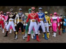 All Power Rangers Legendary Morphs Mighty Morphin - Samurai Power Rangers Super Megaforce