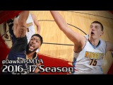 Nikola Jokic vs Anthony Davis BIG MEN Duel 2017.04.07 - AD With 25, Joker With 23-12-5!