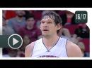 Boban Marjanovic Full Highlights vs Rockets (2017.04.07) - Career-HIGH 27 Pts, 12 Reb, BEAST!
