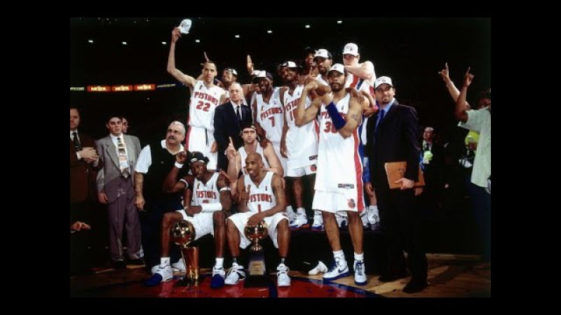 Detroit Pistons: Best Playoff Plays At The Palace During Championship Season (1989, 1990, 2004) NBANews NBA