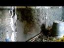 оштукатуривание бетонной кирпичной стены