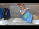 Вебинар по валянию банной шапки Чиполлино