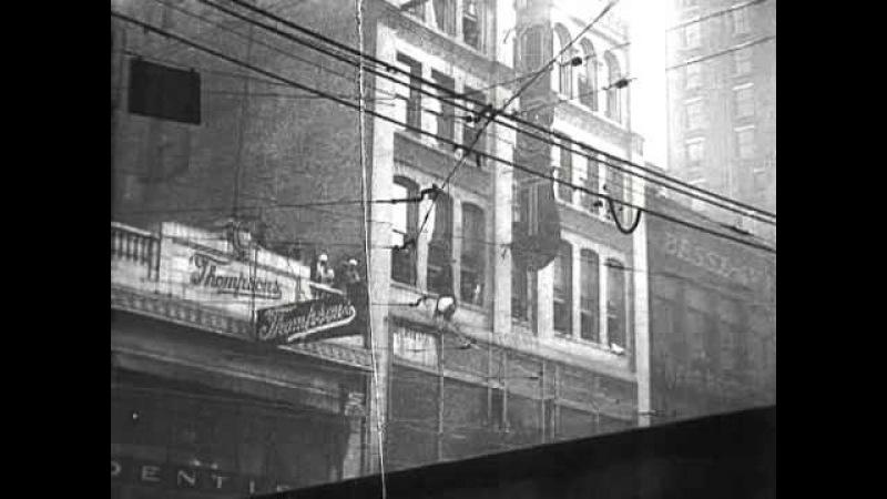 Побег из смирительной рубашки Гарри Гудини / Straightjacket Escape 1923