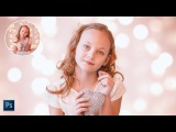 How to Create Bokeh Lighting Portrait Effect In Photoshop - Add Light Blur Background to Photos