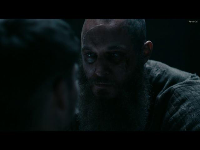 Рагнар прощается с Иваром | Викинги