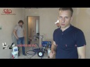 Ремонт квартир в СПб. Шпаклевка двухкомнатной квартиры машинным способом. Паль