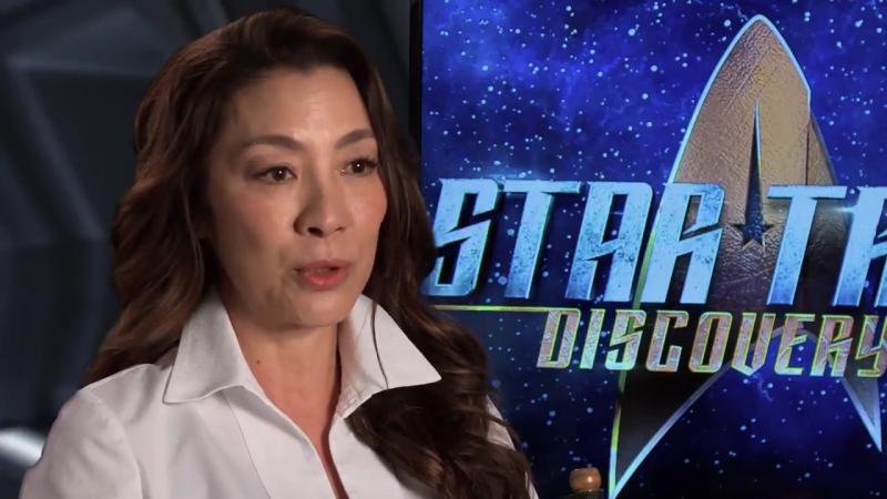 Звездный путь: Дискавери - (Star Trek: Discovery) - интервью Мишель Йео
