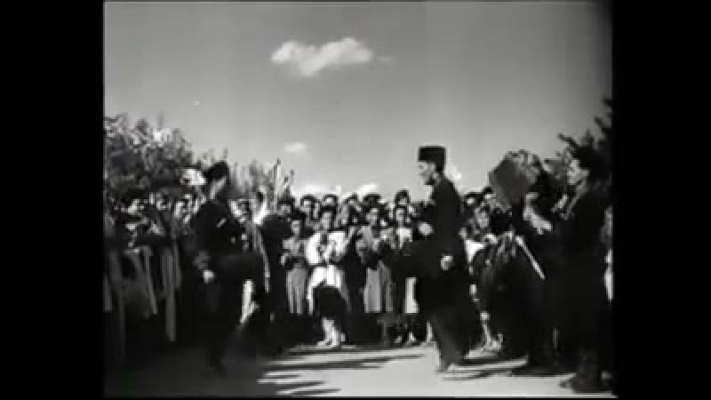Адыгский праздник урожая в 1949 году.
