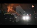 Пожар на складе лакокрасочных материалов