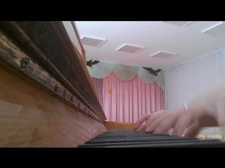''Не уходи'' (Princessa Avenue) фортепиано
