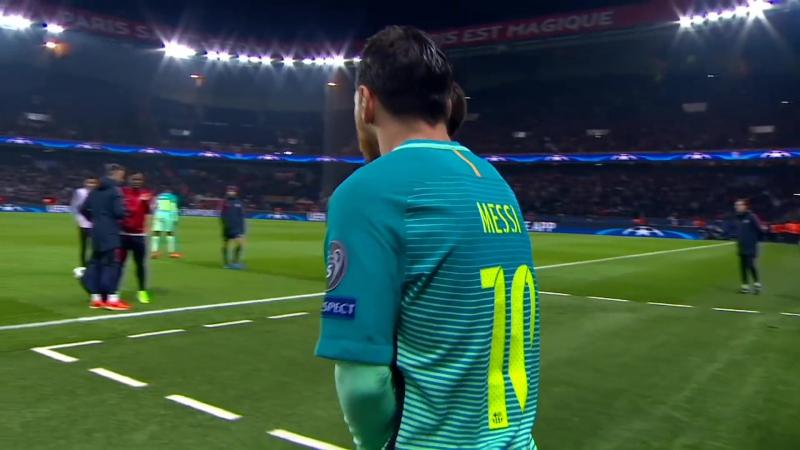 Lionel Messi vs PSG (A) (14/02/2017) HD 1080i