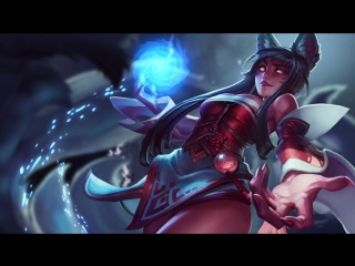 Ahri | Animated Wallpaper - League of Legends