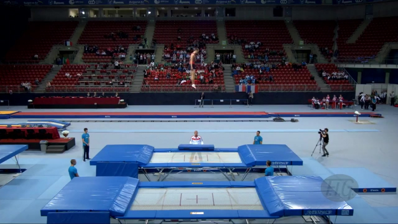 USHAKOV Dmitrii (RUS) - 2017 Trampoline Worlds, Sofia (BUL) - Qualification Tram