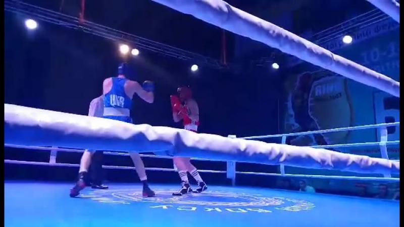 Чемпион Украины из Кременной Николай Коваленко, в Умани