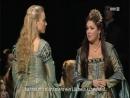 Elisabeth Kulman, Anna Netrbko, Elina Garanca in Anna Bolena 2011 Vienna State Opera