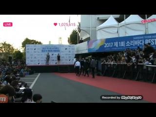 170920 EXO Red Carpet 'Soribada Best K-Misic Awards'
