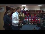 Чемпионская раздевалка «Красной Армии»