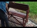 Идеальная скамейка-стол