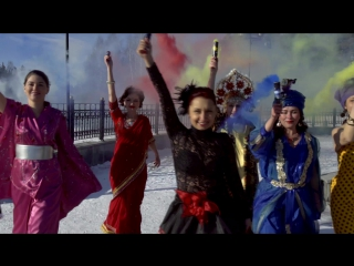 ЦАРИЦА УРАЛА-1 - ЕКАТЕРИНБУРГ. Flash mob.