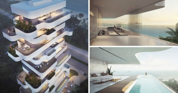 Elegant Residential Tower with a view Limassol Beach | Orange Architects