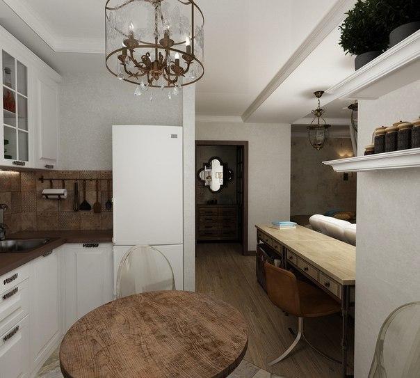 Интерьер квартиры 30 кв.