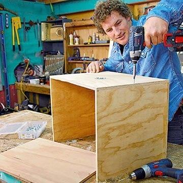 Как сделать интересную мебель из веток.