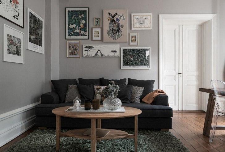Уютная двушка в Швеции (68 кв.