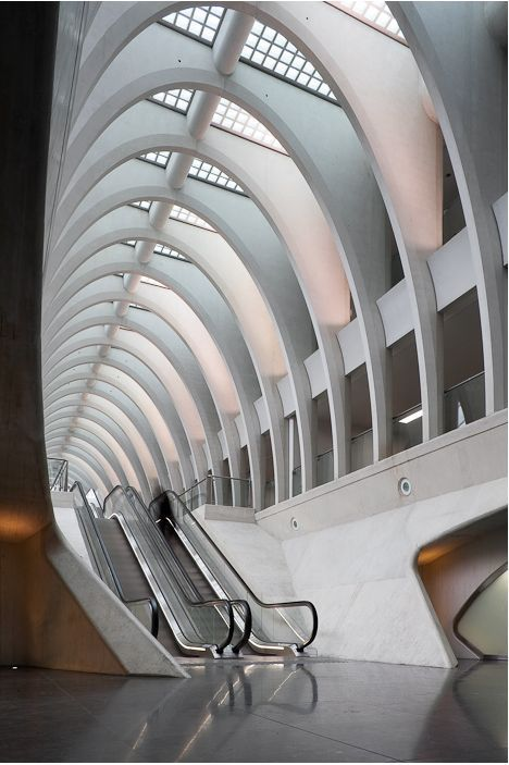 Calatrava - Liège-Guillemins TGV Station