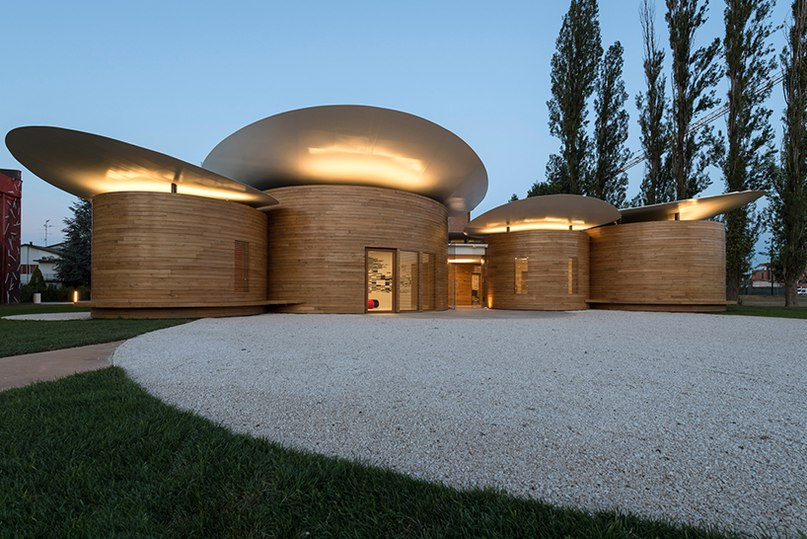 MCA completes house of music in Italy as nine circular pavilions