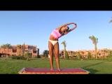 Комплекс упражнений, фитнес для похудения. 2 видео урок (Разминка)