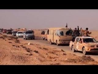 Колонна автомобилей ИГИЛ едет штурмовать Дейр Эз-Зор