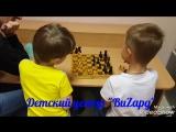 Артем и Павел так увлеклись игрой, что не заметили, как закончился урок...
