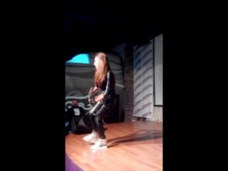 Зажигательная Римма Никитина на вечеринке в Red Hall 1.04.2017