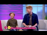 Domhnall Gleeson and Will Tilston on Winnie the Poohs Painful Origins - Lorraine