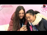 Wakaba Higuchi & Evgenia Medvedeva: rivals and friends (Japanese TV)