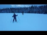 Уступите парню лыжню 🎿