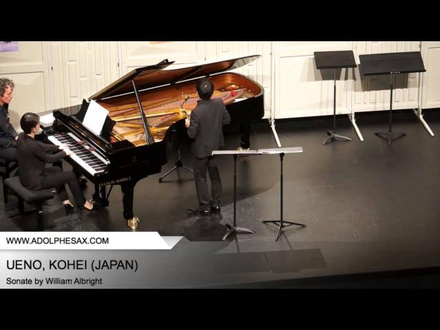 Dinant 2014 - Ueno, Kohei - Sonate by William Albright