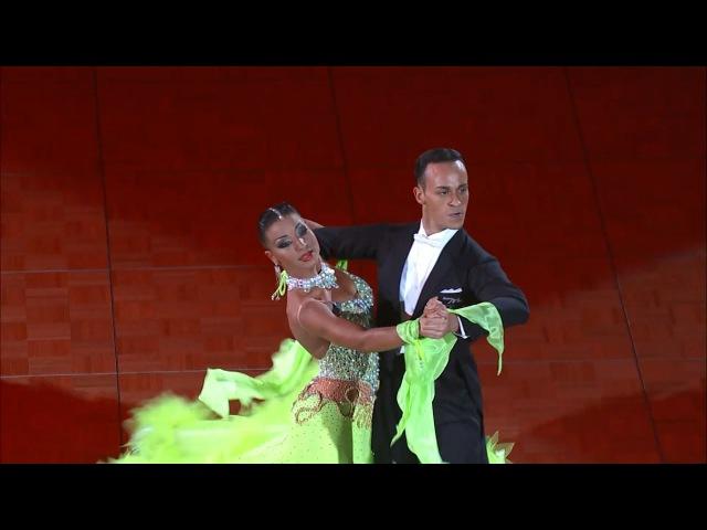 Francesco Galuppo Debora Pacini Tango 2014 GrandSlam STD Hong Kong