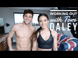 HOME WORKOUT WITH TOM DALEY  DANIELLE PEAZER