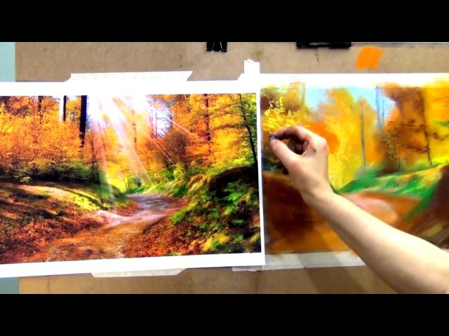Нарисуй пейзаж пастелью. Уроки Татьяны Артыковой