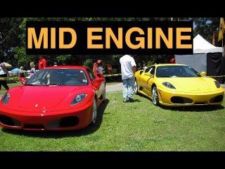 Mid Engine Cars - RWD vs AWD