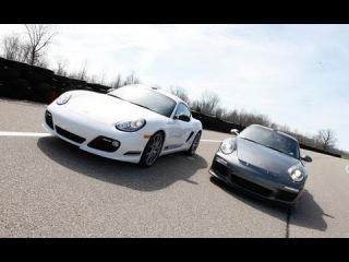 The Mid- vs. Rear-Engine Debate: Porsche Cayman R vs. 911 GT3 - CAR and DRIVER